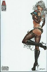 White Widow 1 Sketch Up Naughty Jamie Tyndall Cover Edition Nm