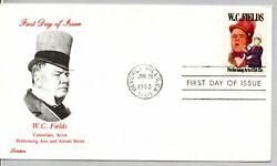 1803 Comedian, Actor, Juggler W.c. Fields Performing Arts Series Stamp Fdc