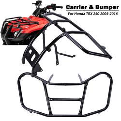 Atv Front Rack Carrier And Front Bumper For Honda Trx250 Trx 250 Recon 2005-2016