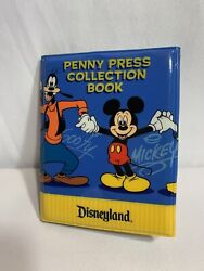 Disney Pressed Penny Collection Book Quarter + 22 Coinsbrother Bear Lilo Ectd6
