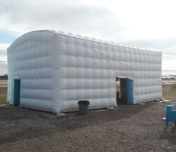 32x22and039orig 10k Inflatable Building Event Advertising Outdoor Work Site Station