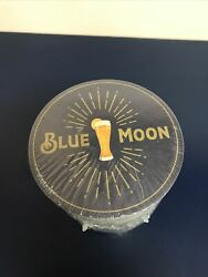 Lot Of 100 New Blue Moon Orange Beer Coasters 2-sided Protect Bar And Furniture