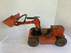 Vintage 1950's Nylint Ny-lint Toys Pettibone Speed Swing Front End Loader