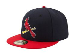 New Era 59fifty Mlb St. Louis Cardinals Authentic Alternate 2 On Field Cap 6 7/8