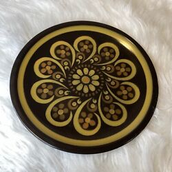 Vintage Mikasa Majorca Lodi E2854 Serving Plate Charger 1970's Oven To Table