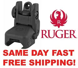 Ruger Rear Rapid Deploy Sight Installson Picatinny 90415 Same Day Fast Free Ship