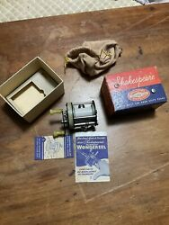 Vintage Shakespeare Boxed 1960s Model Ge Casting Reel Tackle Nos