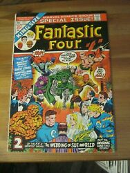 Fantastic Four King-size Special Annual 10 Wedding Issue Dr. Doom, Namor Zco1