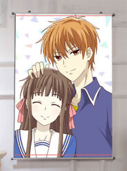 Anime Fruits Basket Home Decor Poster Wall Scroll Painting Gift 6090cm E179