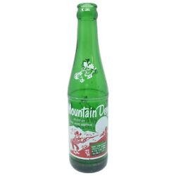 Mountain Dew Hillbilly Pop Soda Bottle Green Filled By Phil And Bertha 8 Oz Ohio