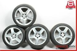 07-13 Mercedes S550 Cl550 Staggered Wheel Rim Tires Set Of 4 Pc 8.5x9.5 R19