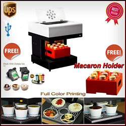 Coffee Printer 4 Cups Automatic Cake Printer Chocolate Selfie Cappuccino + Gifts