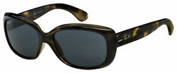 Ray-ban Jackie Ohh Sunglasses Rb 4101 731/81 58 Tort   Grey Gradient Polarized