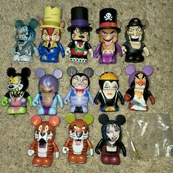 Disney Vinylmation Villains Series 2 Complete Set With Chaser And Variant
