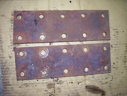 Vintage Mccormick Farmall M - H Tractor -2 Fender Extensions