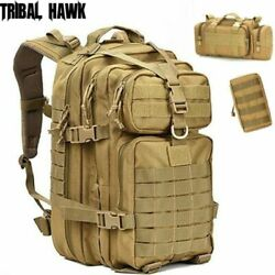 Military Backpack Trekking Hiking Camping Army Bag Outdoor Tactical Travel Molle