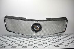 2004 2005 2006 2007 2008 2009 Cadillac Srx Classic Chrome Mesh Grill Stainless