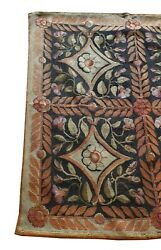 917 - French Aubusson Rug 19th Century