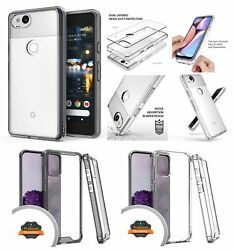 For Motorola Moto One 5g Ace Case Rugged Hybrid Rubber Gummy Clear Hard Cover