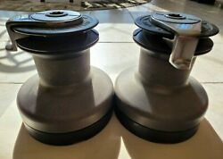 Self Tailing 2 Speed Winches Set Of Two, 2-29's. Maxwell Brand