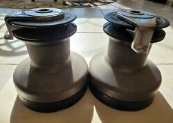 Self Tailing 2 Speed Winches Set Of Two 2-29andrsquos. Maxwell Brand