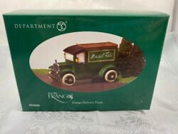 Marshall Field Dept 56 Frango Mint Delivery Truck - Rare - New In Box