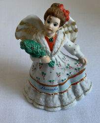 Vintage Schmid Angelic Melodies Musical Collectable December Doll 1995