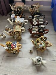 Paul Cardew Selection Of Vintage And Collectors Teapots