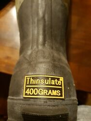 Red Head Bone Dry Waterproof Rubber Thinsulate Boots Menand039s Size 8