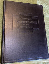 Analytical Concordance To The Holy Bible By Robert Young Hc, 1975
