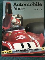 Automobile Year 22 1974 1975 Car Collector Vtg Book Mechanic History Reference