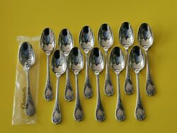 Christofle Marly 12 Spoons Mocha 3 7/8in Silver Metal