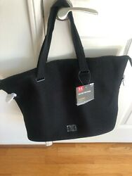Underarmour Womens On the Run Storm1 Black Bag NEW WITH TAGS $29.96