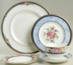 Royal Doulton China Centennial Rose Five Piece Place Setting - Discontinued