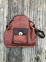 leather backpack purses for women pre owned $25.00