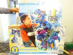 W115 Fisher-price Imaginext Ultra T-rex Unopened Continental Us Only Due 2 Size