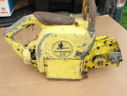 Vintage Mcculloch 35 Chainsaw Parts Or Repair
