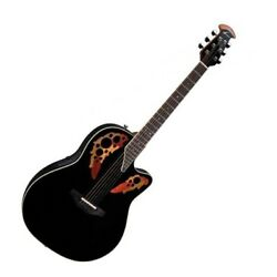 Ovation 2778ax-5 Timeless Elite 6 String Acoustic-electric Guitar - Black