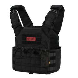Tactical Molle Hunting Vest Military Gear Outdoor Adjustable Belt Protection