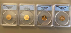 2009-s Lincoln Cents Anacs Pf70 All 4 Varieties