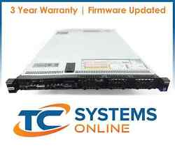 Dell Poweredge R630 8 Bay 2x 12c 2.5ghz 256gb Ram 3x 1.2tb H730 Idrac 8 Ent