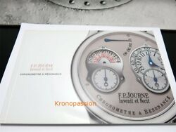 F.p. Journe User Manual Booklet For A Chronometre A Resonance Series Oem