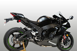 M4 Exhaust Kawasaki Zx10r 2021 Full System With Black Gp19 Canister