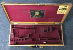 Holland And Holland - Best Quality Leather On Oak Frame Double Shotgun Motor Case