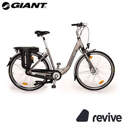 Giant Twist Elegance Double Power 2012 E-trekking Bike Grey Fh M 28 Bicycle