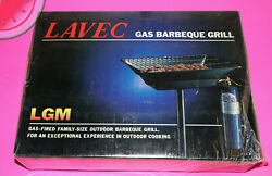 Vintage Lavec Stand-up Propane Gas Barbeque Grill Lgm New