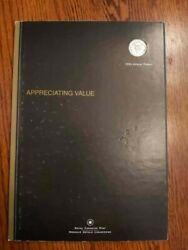 2004 Royal Canadian Mint Annual Report With Gold-plated Quarter 25 Cents + Coa R