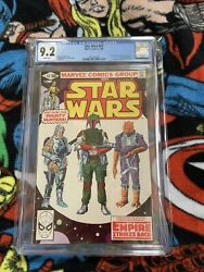 Star Wars 42 Cgc 9.2 Nm- Wp 12/80 1980 Marvel Comics 1st Boba Fett White Pages