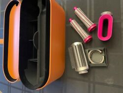 Dyson Airwrap Case + 4 Attachments Hair Styler And Filter Brush No Drying Wand