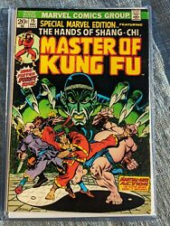 Special Marvel Edition 15 Master Of Kung Fu 1st App Of Shang-chi